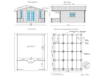 Дачный домик 5х6 002