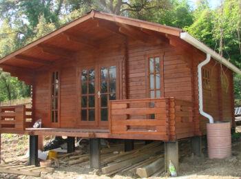Дачный домик 6х6 м