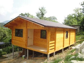 Дачный дом 6х8+1 м