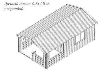 Дом 4х6,8 002