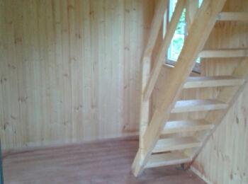 Дом 5,2х5,2 (утеплённый, 2 этажа) 008