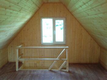 Дом 5,2х5,2 (утеплённый, 2 этажа) 010