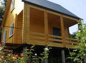 Дом 5,2х5,2 (утеплённый, 2 этажа) 017