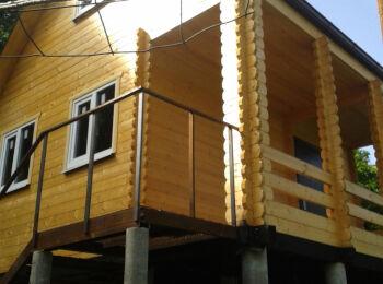 Дом 5,2х5,2 (утеплённый, 2 этажа) 019