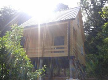 Дом 5,2х5,2 (утеплённый, 2 этажа) 004