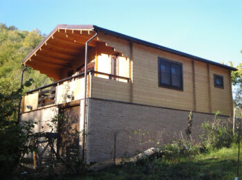Дачный дом 6х9 м