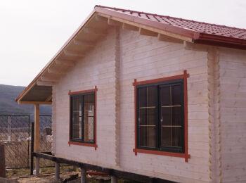 Дачный домик 4,3х7,3 м