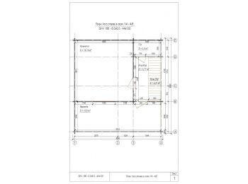 Дом 6х6 (2 этажа) 001