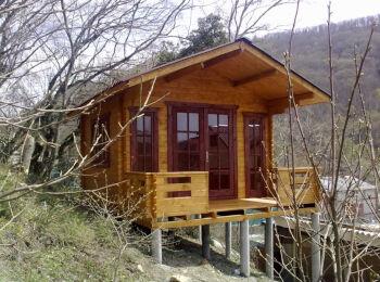 3,8х5,3 м, домик для отдыха, п. Ольгинка 004