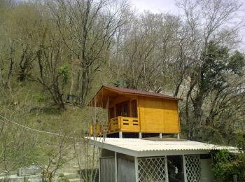 3,8х5,3 м, домик для отдыха, п. Ольгинка 006