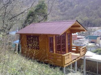 3,8х5,3 м, домик для отдыха, п. Ольгинка 008