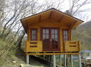 3,8х5,3 м, домик для отдыха, п. Ольгинка 009