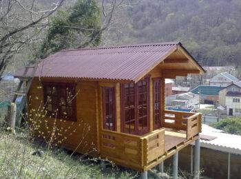 3,8х5,3 м, домик для отдыха, п. Ольгинка 013