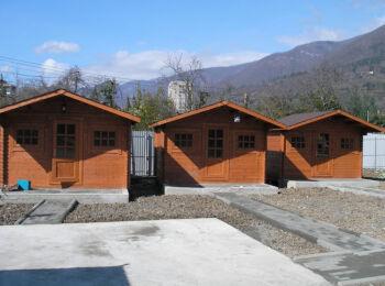 3х3,8 м, домики для отдыха, Абхазия, г. Гагра