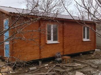 4,3х7,3 м, жилой дом, рес. Крым