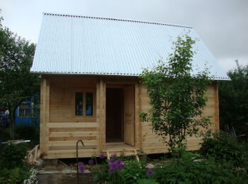 Дом 4х6 м с мансардой,  002