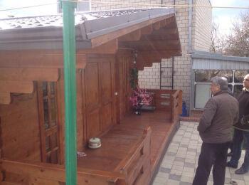 Баня 6х6 м г. Тимашевск,  017