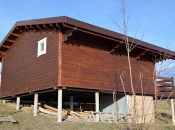 Дачный Дом 6,3 х 8,4 м 004