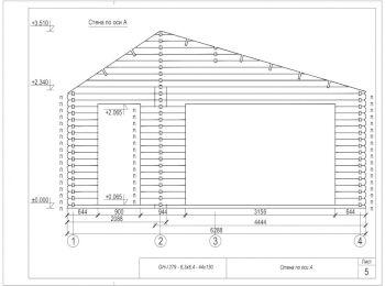 Проект дома 005