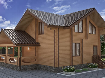Жилой дом 9,4 х 10,3 м 002