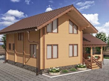 Жилой дом 9,4 х 10,3 м 003