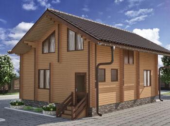 Жилой дом 9,4 х 10,3 м 004