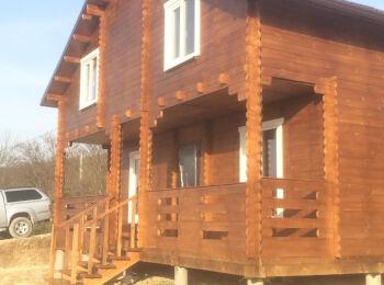 Дачный дом 7х8,5 м 003