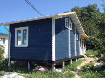 Дачный дом 4,3х7,3 м г. Сочи,  002