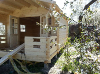 Дачный домик 3,8 х 5,3 м, фото 005