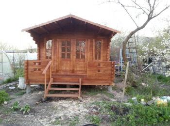Дачный домик 3,8 х 5,3 м, фото 006