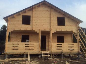 Дачный Дом 7х8,5 м (2 этажа) 001