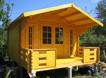 Садовый домик 3,8х5,3 м