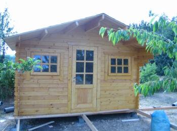 Садовый домик 3х3,8 м
